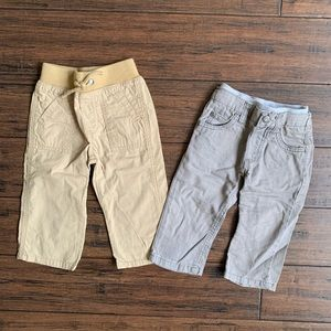 2 pairs of pants from Carters